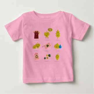 Designers t-shirt pink with Forest