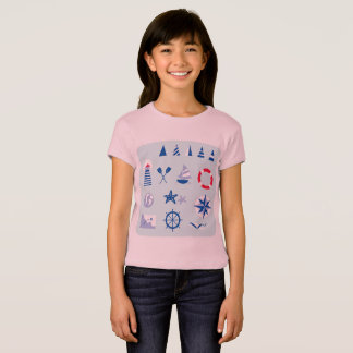 Designers t-shirt with Mare icons