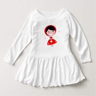 Designers toddler with RED Princess Dress