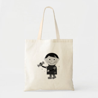 Designers tote bag with Zombie