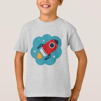 Designers tshirt with Rocket
