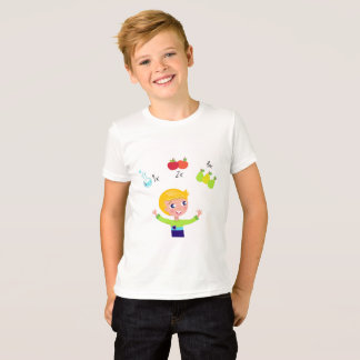 Designers tshirt with School illustration