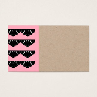 DESIGNERS VISIT Card Recycle : Lace Black