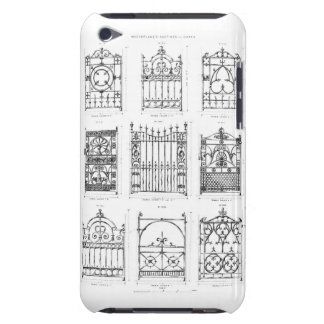 Designs for cast-iron gates, from 'Macfarlane's Ca iPod Case-Mate Cases