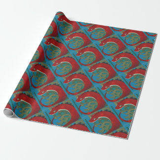 Desire the Dragon Wrapping Paper