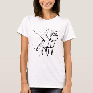 Desk Flip Rage Meme T-Shirt