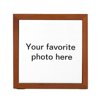Desk Organizer, add your own favorite photo. Desk Organiser