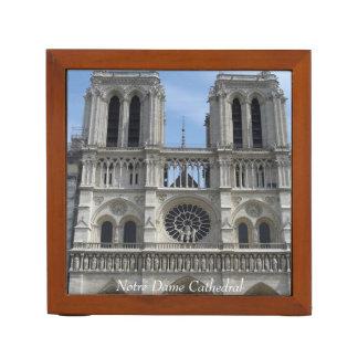 Desk Organizer--Notre Dame Cathedral Desk Organiser