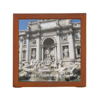 Desk Organizer--Trevi Fountain Desk Organiser