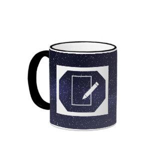 Desktop Logs Minimal Ringer Mug