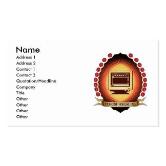 Desktop Publishing Mandorla Pack Of Standard Business Cards