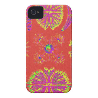Desmidiea on Burnt Orange iPhone 4 Case-Mate Case