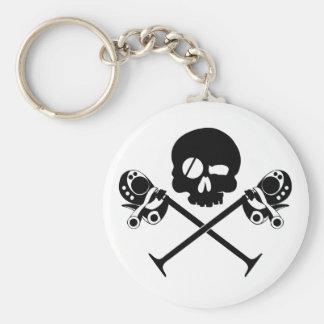 Desmo Skull KeyChain
