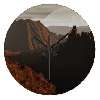 Desolate Large Clock