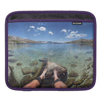 Desolation Lake - Sierra iPad Sleeve