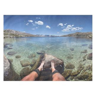 Desolation Lake - Sierra Tablecloth
