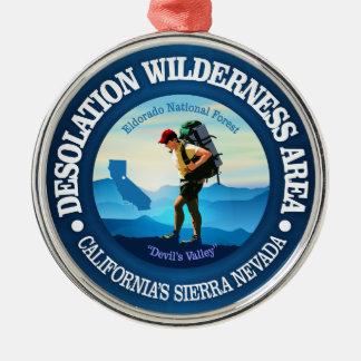 Desolation Wilderness (Hiker C) Metal Ornament
