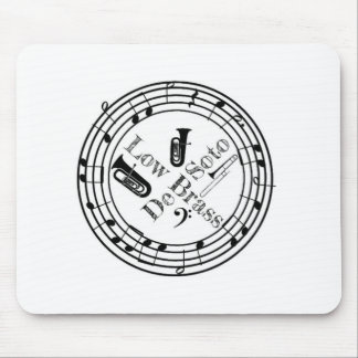 DeSoto Low Brass Mouse Pad