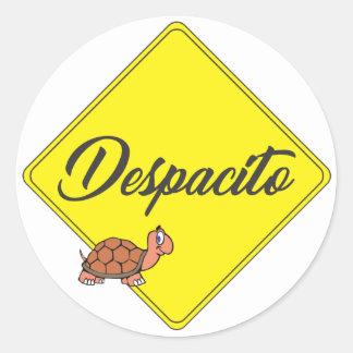 Despacito Classic Round Sticker