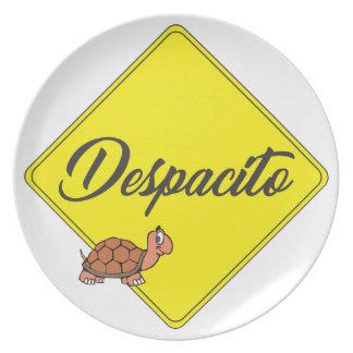 Despacito Plate