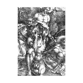 Desperate Man 1515 Canvas Print