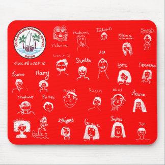 DESS Class 5B children's faces Mouse Pad