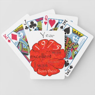 Dessalinia - Year 1975 Bicycle Playing Cards