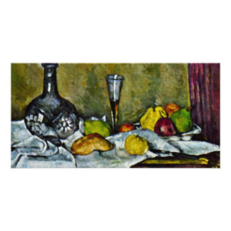 Dessert By Paul Cézanne Best Quality Photo Card Template