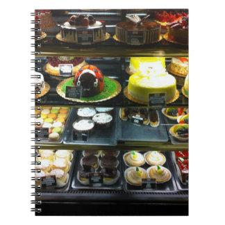 Dessert Display Case Notebook