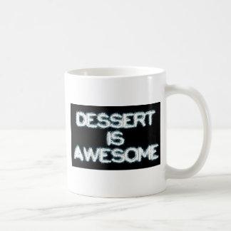 Dessert is Awesome Classic White Coffee Mug
