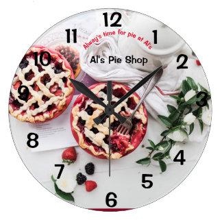 dessert large clock