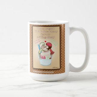 dessert lovers classic white coffee mug