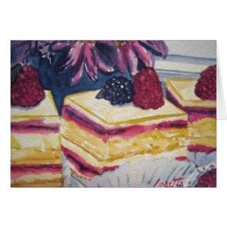 Dessert Pastry Card