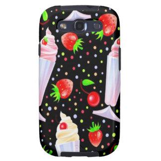 Dessert Pattern - Samsung Galaxy S3 Vibe Case Samsung Galaxy S3 Cover