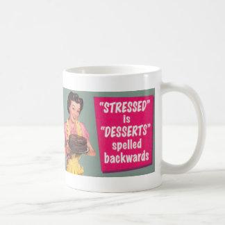 Desserts Aleviate Stress Gourmet Mug