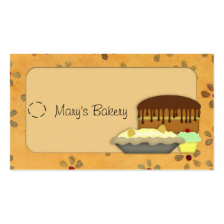 Desserts Hang Tag Pack Of Standard Business Cards