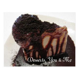 Desserts, You & Me Postcard
