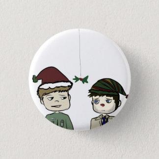 Destiel Supernatural Holiday Pin