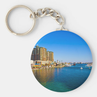 Destin Florida Harbor Beautiful Scenic Photo Key Ring