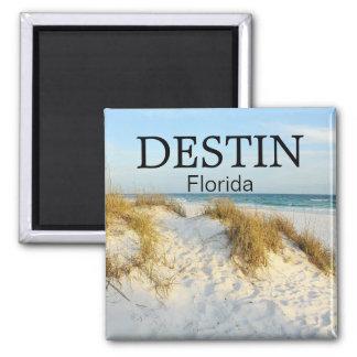 Destin Florida white sand beach sunset magnet