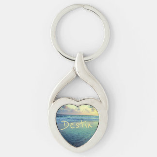 Destin Gulf Shoreline Key Ring