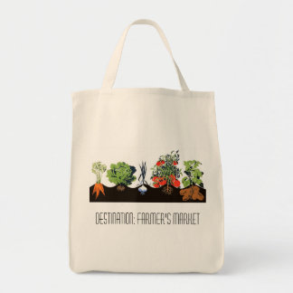 Destination: Farmer's Market Tote Bag