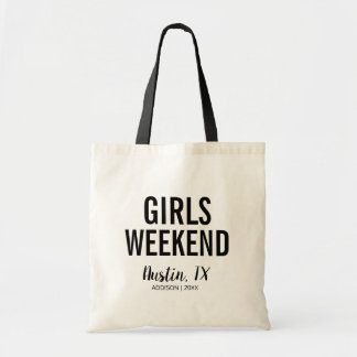 Destination Girls Weekend Tote Bag