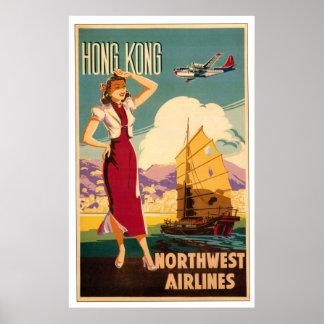 Destination: Hong Kong Poster