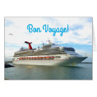 Destination Sunshine Custom Bon Voyage Card