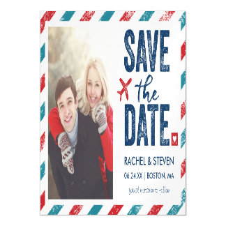 Destination Wedding | Magnet Save the Date Magnetic Invitations