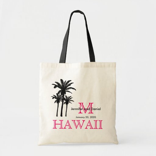 Destination Wedding Tote Bags Hawaii