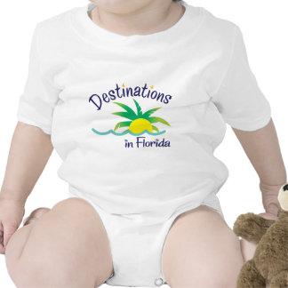 Destinations in Florida Print Logo Merchandise Baby Creeper