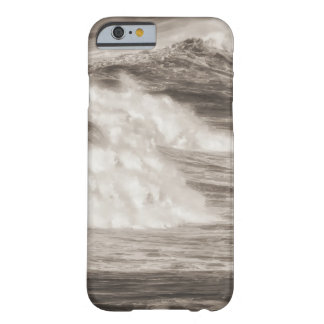 Destined Ocean waves breaking as they reach the sh Barely There iPhone 6 Case