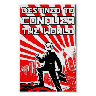 Destined to Conquer the World Poster